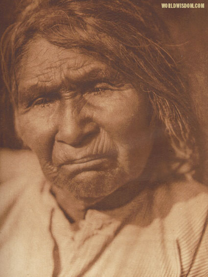 """Achomawi woman - Achomawi"", by Edward S. Curtis from The North American Indian Volume 13"