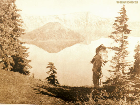"""Chief - Klamath"", by Edward S. Curtis from The North American Indian Volume 13"