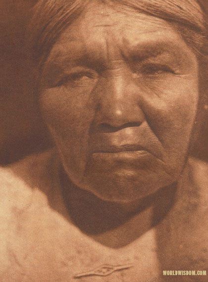 """A Kato matron"", by Edward S. Curtis from The North American Indian Volume 14"