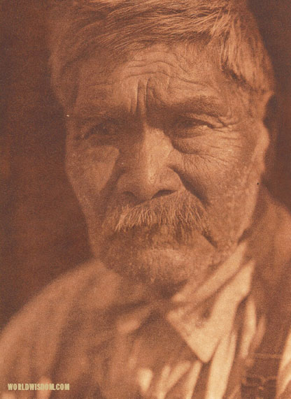 """Tachahaqachile"" - Kato, by Edward S. Curtis from The North American Indian Volume 14"