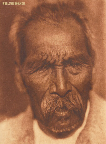 """Otila"" - Maidu, by Edward S. Curtis from The North American Indian Volume 14"