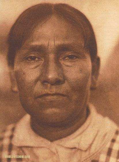 """A Maidu woman"", by Edward S. Curtis from The North American Indian Volume 14"