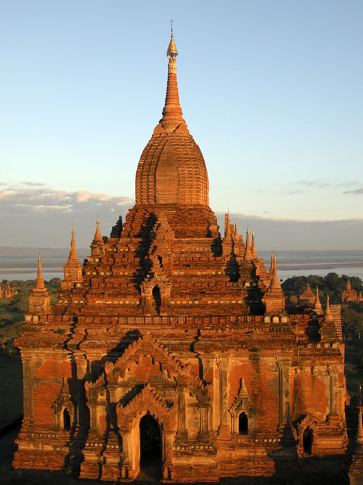 The Htilominlo Temple, Old Bagan, Burma
