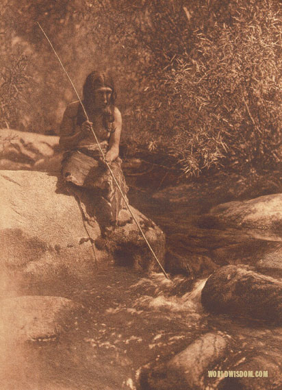 """On the Merced"" - Miwok, by Edward S. Curtis from The North American Indian Volume 14"