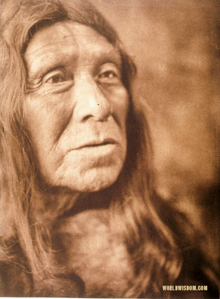 """Miwok head-man"", by Edward S. Curtis from The North American Indian Volume 14"