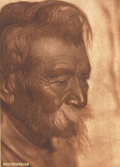 """Koshonono"" - Pomo, by Edward S. Curtis from The North American Indian Volume 14"
