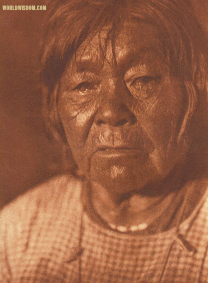 """A Wailaki woman"", by Edward S. Curtis from The North American Indian Volume 14"
