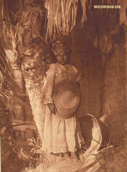 """A Cahuilla child"", by Edward S. Curtis from The North American Indian Volume 15"