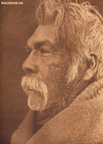 """A Mono type"", by Edward S. Curtis from The North American Indian Volume 15"