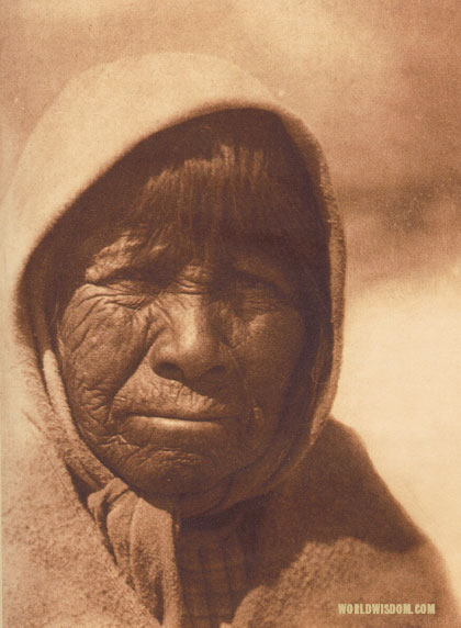 """Su-donii - 'Osier-willow blossom'"" - Paviotso, by Edward S. Curtis from The North American Indian Volume 15"