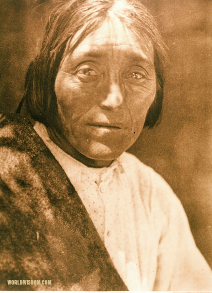 """Isleta man"", by Edward S. Curtis from The North American Indian Volume 16"