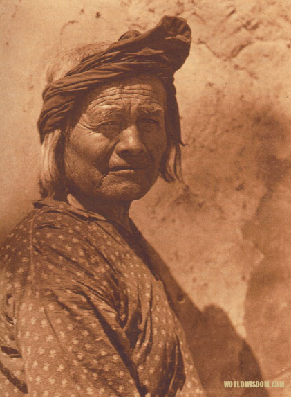 """A Santo Domingo man"", by Edward S. Curtis from The North American Indian Volume 16"