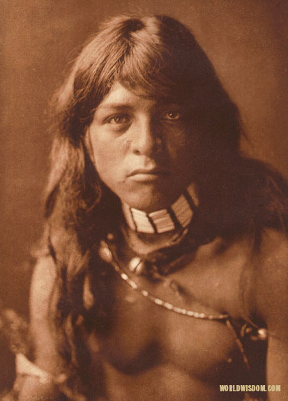 """Povi-yemo - 'Flower Falling' - San Ildefonso"", by Edward S. Curtis from The North American Indian Volume 17"