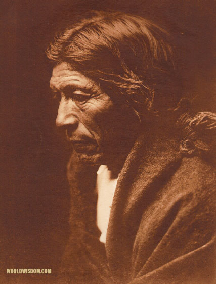 """Pose-aye - 'Dew Moving' - Nambe"", by Edward S. Curtis from The North American Indian Volume 17"