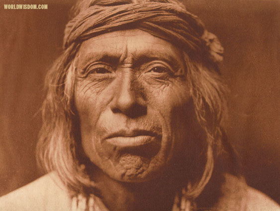 """Shiwawatiwa - Zuni"", by Edward S. Curtis from The North American Indian Volume 17"