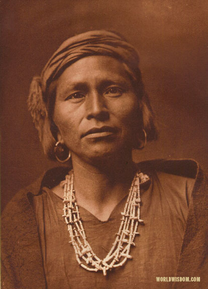 """A Zuni governor"", by Edward S. Curtis from The North American Indian Volume 17"