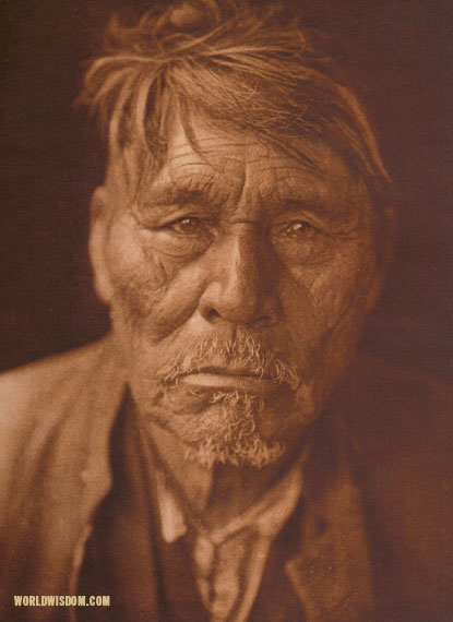 """Nasurethur"" - Chipewyan, by Edward S. Curtis from The North American Indian Volume 18"