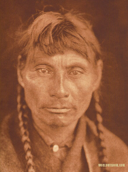"""A Cree"", by Edward S. Curtis from The North American Indian Volume 18"