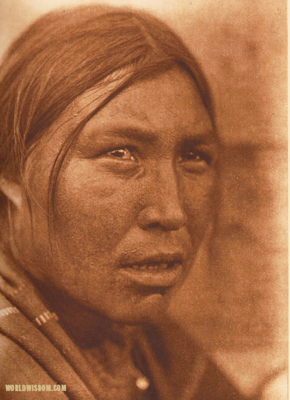 """Mawinehikis - 'Tries-to-excel'"", by Edward S. Curtis from The North American Indian Volume 18"