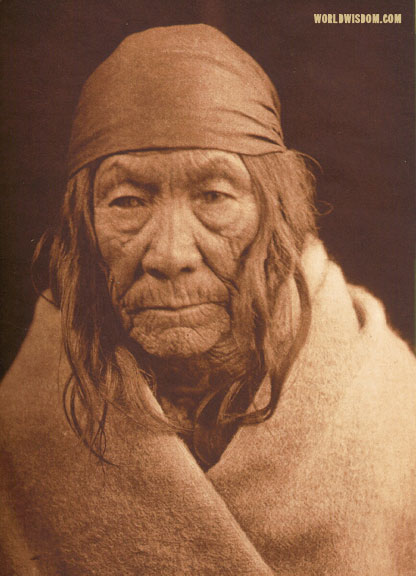 """Ka'ni"" - Cree, by Edward S. Curtis from The North American Indian Volume 18"