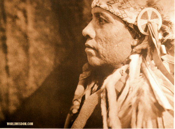 """A Wichita man"", by Edward S. Curtis from The North American Indian Volume 19"