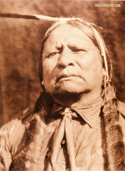 """Walter Ross"" - Wichita, by Edward S. Curtis from The North American Indian Volume 19"