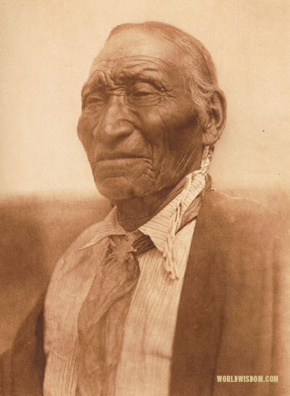 """Old Crow"" - Southern Cheyenne, by Edward S. Curtis from The North American Indian Volume 19"