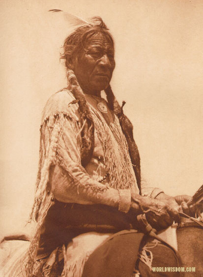 """Black Wolf"" - Southern Cheyenne, by Edward S. Curtis from The North American Indian Volume 19"