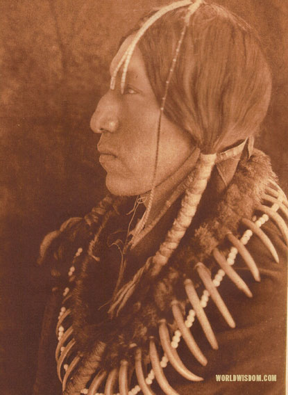 """Seeing High"" - Oto, by Edward S. Curtis from The North American Indian Volume 19"