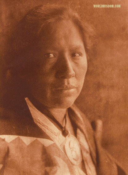 """Standing On The Earth"" - Oto, by Edward S. Curtis from The North American Indian Volume 19"