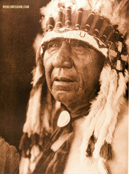 """Wakonda"" - Oto, by Edward S. Curtis from The North American Indian Volume 19"