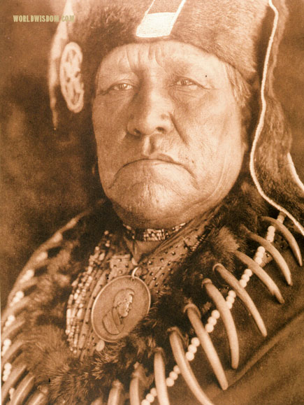 """Old Eagle"" - Oto, by Edward S. Curtis from The North American Indian Volume 19"