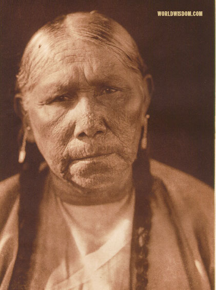 """Kicha"" - Comanche, by Edward S. Curtis from The North American Indian Volume 19"