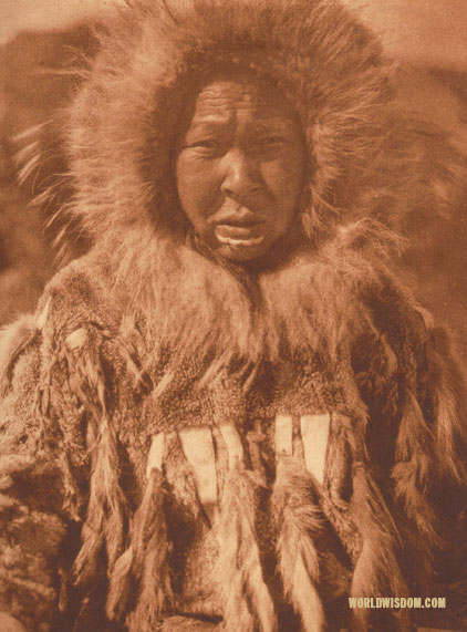 """Baninaguh"", Nanivak, by Edward S. Curtis from The North American Indian Volume 20"