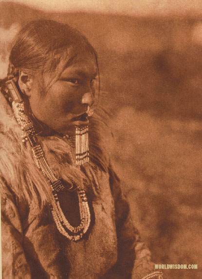 """Kenowun"" - Nanivak, by Edward S. Curtis from The North American Indian Volume 20"