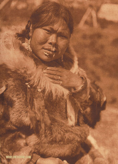"""Dahchihtok"" - Nanivak, by Edward S. Curtis from The North American Indian Volume 20"