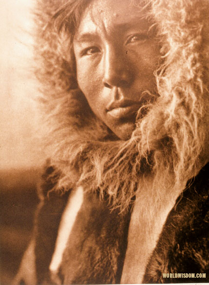 """Jackson, interpreter at Kotzebue"", by Edward S. Curtis from The North American Indian Volume 20"
