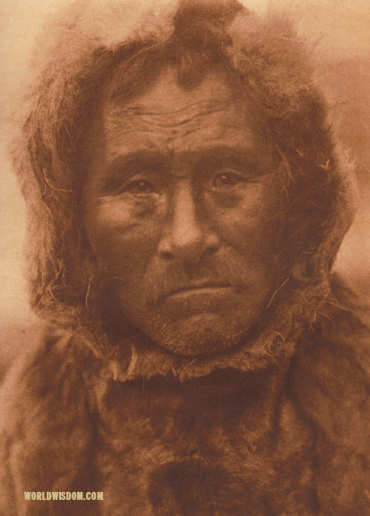"""Noatak man"", by Edward S. Curtis from The North American Indian Volume 20"