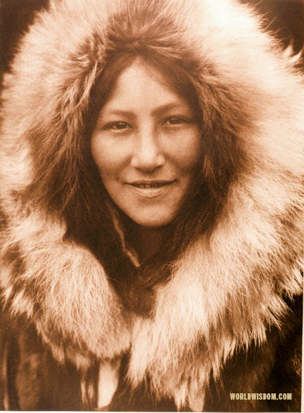 """Ola"" - Noatak, by Edward S. Curtis from The North American Indian Volume 20"