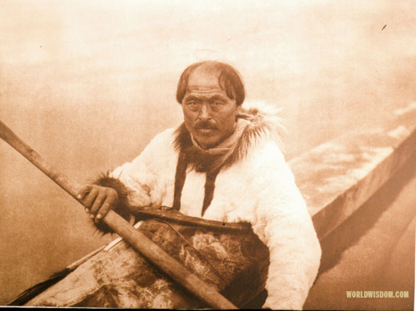 """Nungoktok"" - Noatak, by Edward S. Curtis from The North American Indian Volume 20"