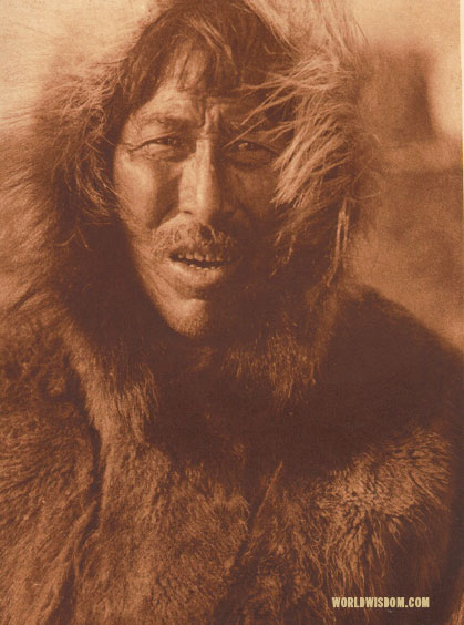 """Kihsuk"" - Selawik, by Edward S. Curtis from The North American Indian Volume 20"