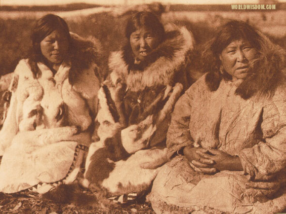 """Selawik women"", by Edward S. Curtis from The North American Indian Volume 20"